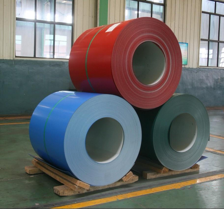 Coated Aluminum Coil