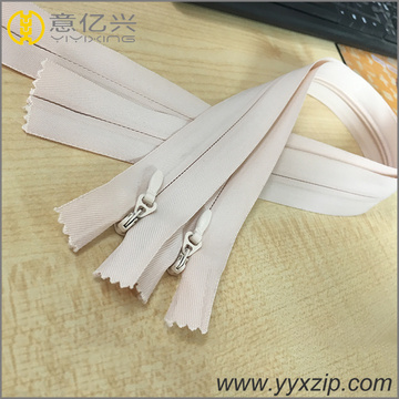 NO.5 fabric tape nylon seal invisible zippers