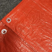 Virgin Coated Truck Cover Orange Presenning