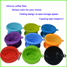 Easy Carry Silicone Coffee Cone Filter