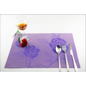 Leading for Pvc Table Mat PVC table mat decoration shop Coffee Pad supply to Italy Wholesale