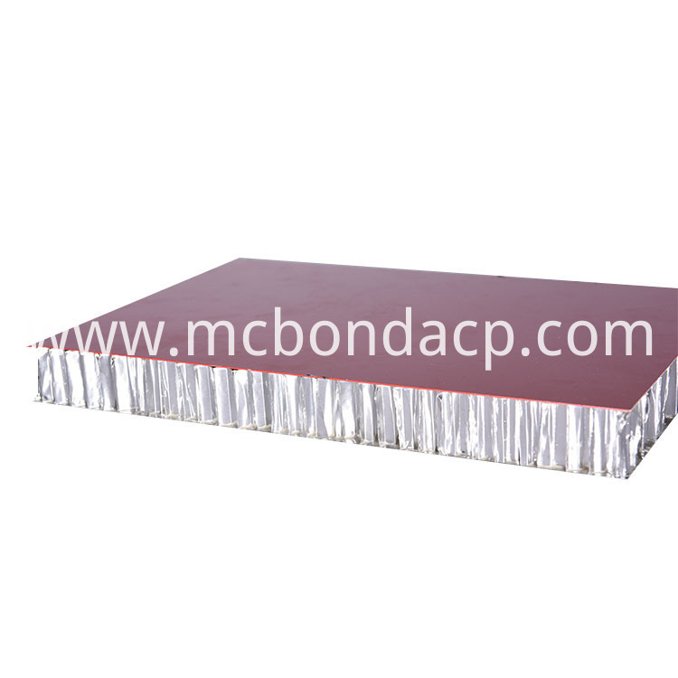 Weather Resistance Decorative Mdf Aluminum Honeycomb Composite