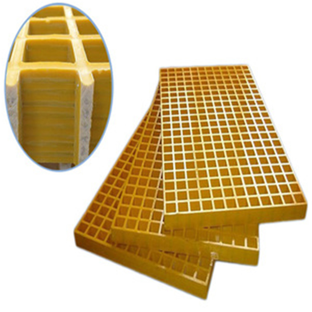 Anti-slip polished(smooth) surface FRP grating FRP grating