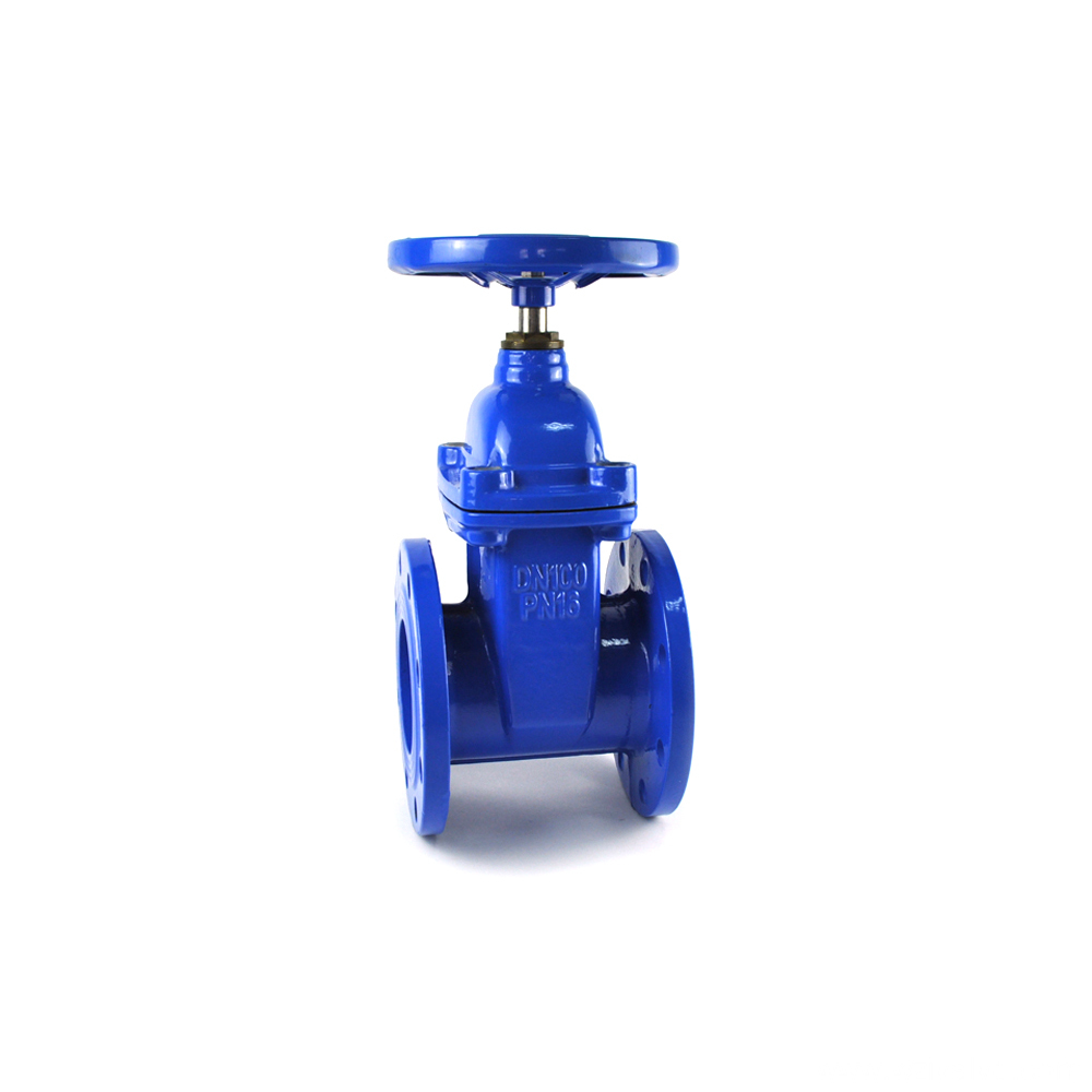 ductile cast iron spring loaded gate valve pn 25
