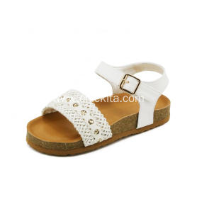 Beautiful Girls Sandal Shoes With Rhinestone for kids