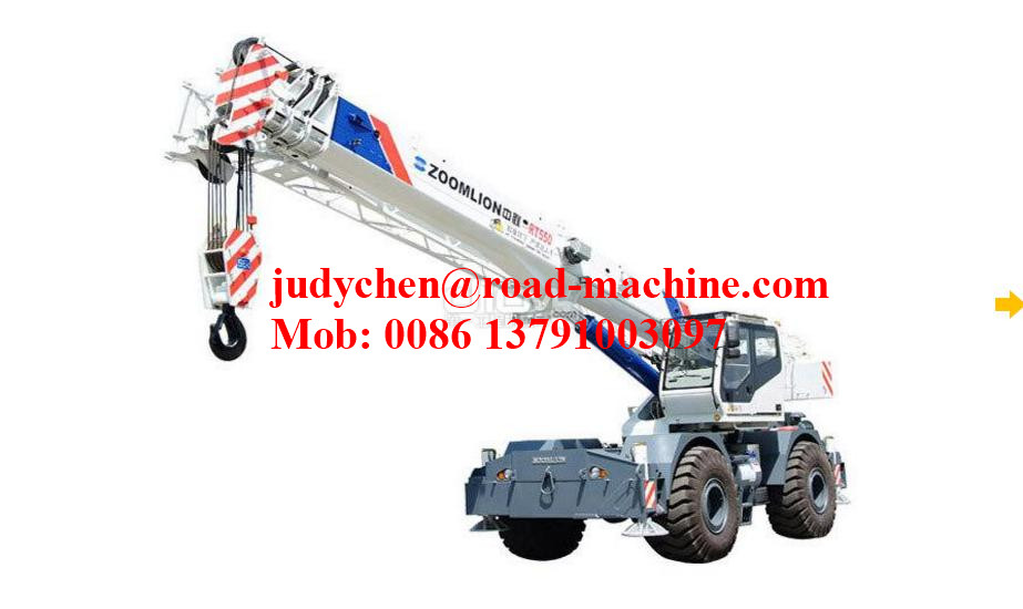 XCMG RT55 55 Ton Rough Terrain Crane