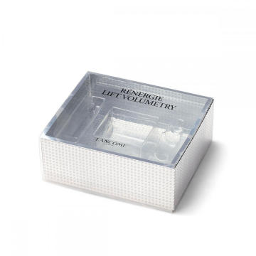 Cosmetic Paper Boxes with Clear PET Sleeve