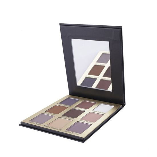 New Multi-Color Eyeshadow Packaging Box With Mirror