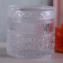 Cylinder Luxury Glass Jar For Candle Making