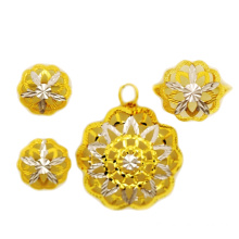 OEM/ODM Supplier for Necklace Jewelry Set 18K Charm jewelry Half set supply to Singapore Suppliers