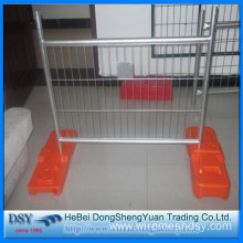 Temporary Wire Mesh Fence With Plastic Feet
