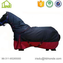 Excellent quality price for Stripe Fleece Horse Blanket 1200d High Neck Winter Horse Blankets export to Western Sahara Manufacturers