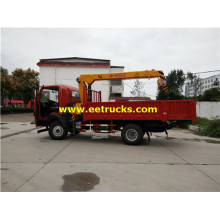 Dongfeng 5 Ton Truck Boom Cranes