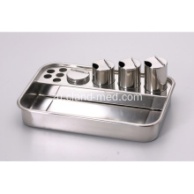 I-Stainless Steel Treatment Hospital Emergency Tray Pill Dispensing Tray