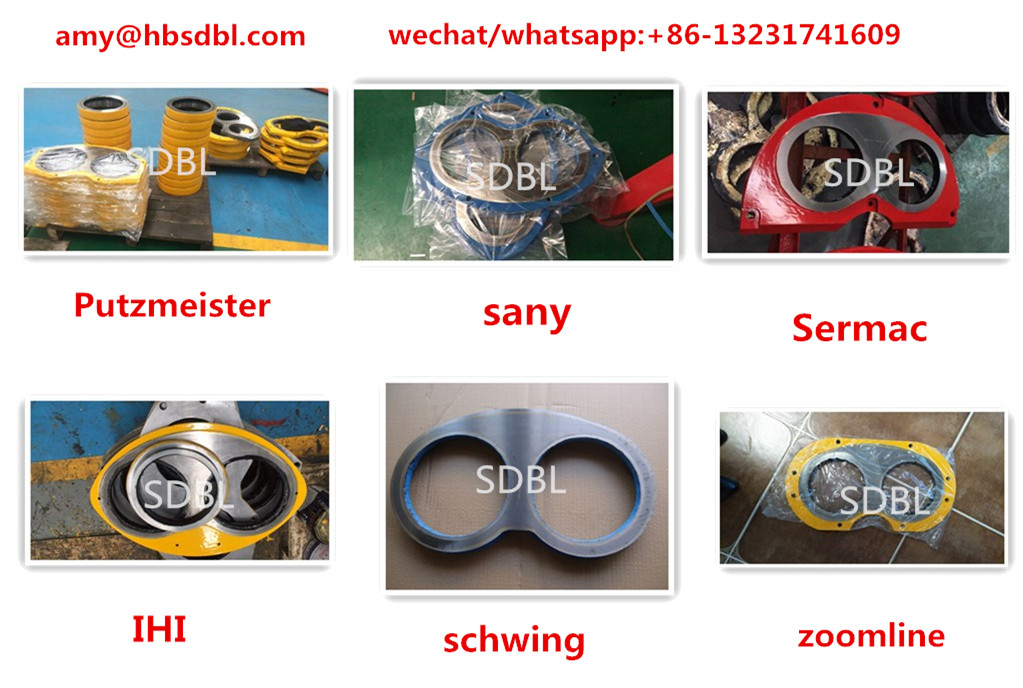 Concrete Pump Wear Plate And Wear Ring