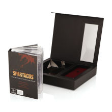 Matte Black Paper Cardboard Magnetic Folding Box