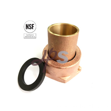 Lead Free brass water Meter Coupling for drinking water