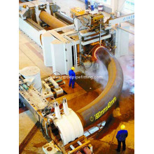 High pressure pipe bending