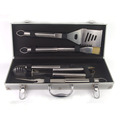 4pc BBQ set in aluminum box