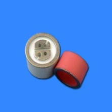 Alumina metallized isolator for brazing in vacuum