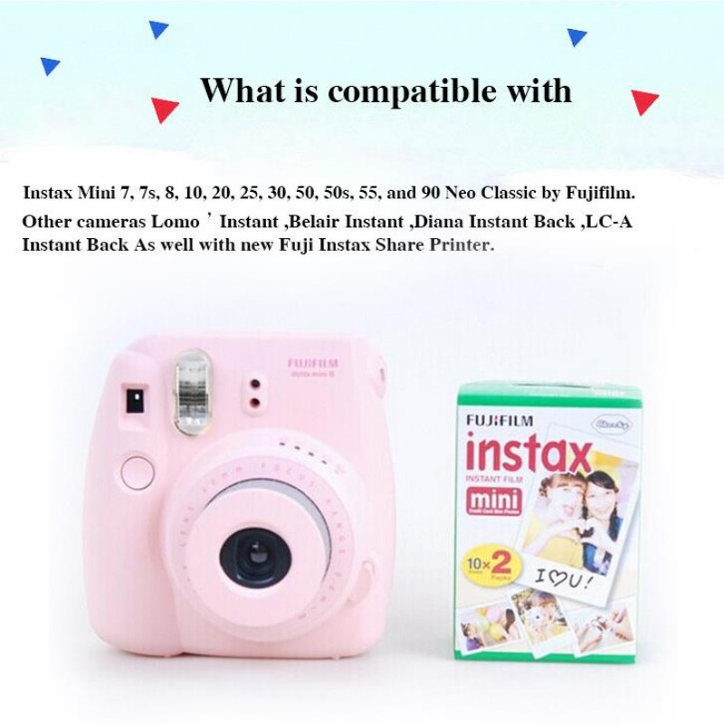 White Color Instax Mini Instant Film China Manufacturer