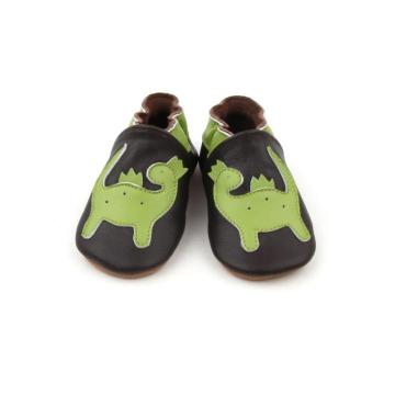 2018 Individual Green Dinosaur Pattern Design Baby Shoes