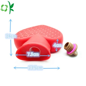 Heart Shape Silicone Hot Water Bag for Pain