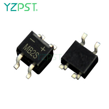 0.5 amp 200V MB2S Single Phase Bridge Rectifier