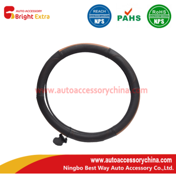 100% Original for Leather Steering Wheel Wrap About Custom SUV Steering Wheel Cover Leather export to Mongolia Manufacturer