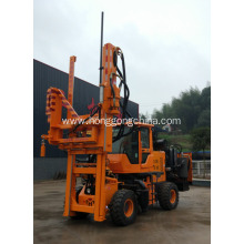 Quality Inspection for Guardrail Driver Extracting Machine Hydraulic Jack-in Pile Machine supply to Mali Exporter