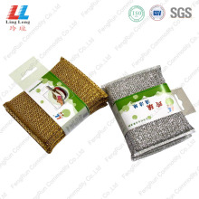 China Top 10 for Golden Silver Cleaning Sponge,Kitchen Cleaning Sponge,Kitchen Sponge Cleaner Manufacturer in China Effective kitchen item dish washer export to Poland Manufacturer