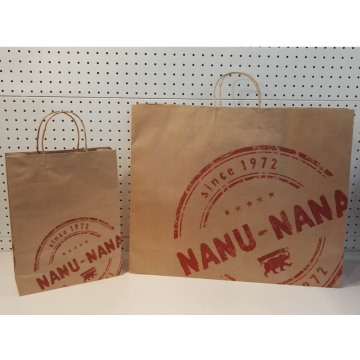 Hot Selling for for Brown Kraft Paper Bag With Twist Handle Brown Paper Gift Bags supply to Uzbekistan Importers