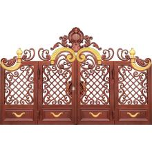 Upscale Mansion Aluminum Gate