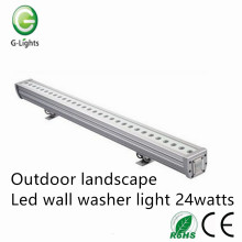 Good Quality for China Manufacturer of Indoor Wall Washer, Led Christmas Wall Washer, Led Light Wall Washer Outdoor landscape led wall washer light 24watts export to France Factories