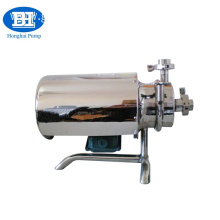 stainless steel milk transfer centrifugal pump