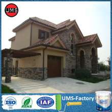 Brick wall effect spray stone paint