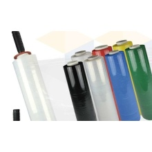 Low Cost for Color Stretch Wrapping Film PE waterproof coloured plastic wrap film roll supply to Saudi Arabia Importers
