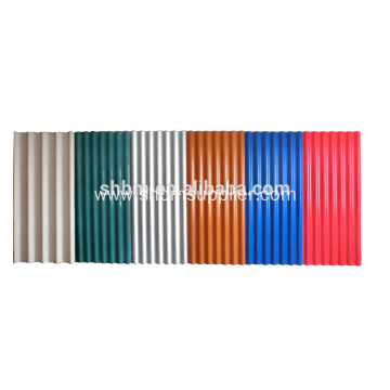 High Strength Colorful Anti-aging Film MgO Roofing Sheets