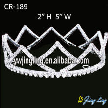 Cheap Pageant Full Round Crown Tiara