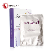 10 Years for Skin Exfoliating Foot Mask Foot spa socks peeling exfoliating foot mask export to Netherlands Manufacturers