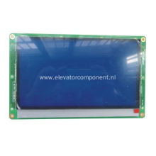 New Arrival for KONE Elevator Spare Parts KONE Elevator Blue LCD Display Board KM51104206G01 export to Chile Factory