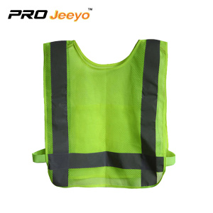 Reflective Hexagon Mesh Breathable Running Vest