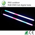 IP65 outdoor RGB DMX led digital tube
