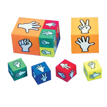 eco-friendly play game dice eva foam kids toys