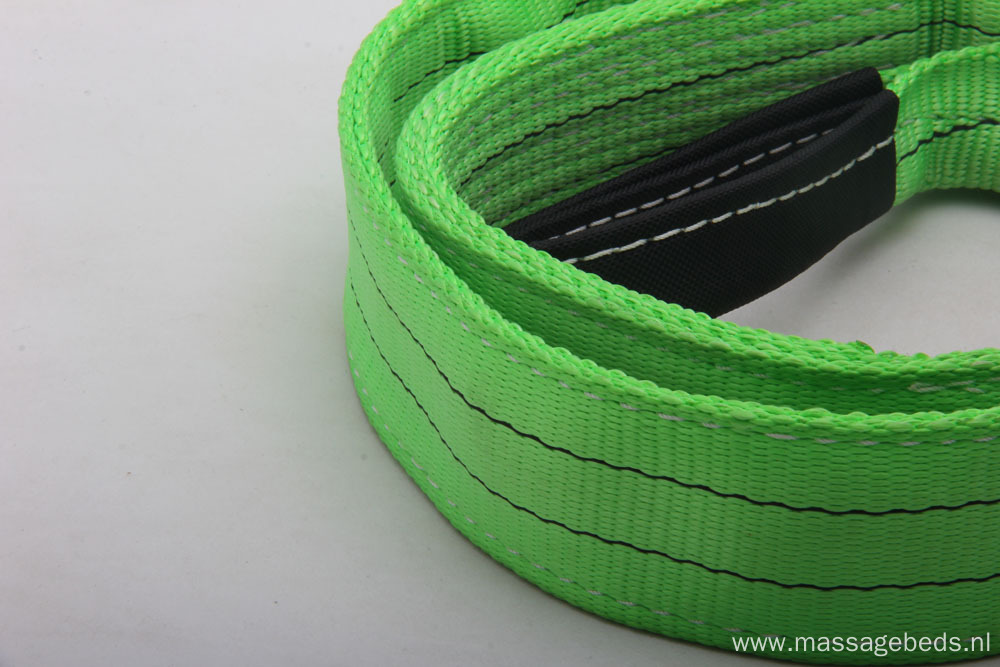 Green 2 Ton Polyester Lifting Webbing Sling with CE Certificate