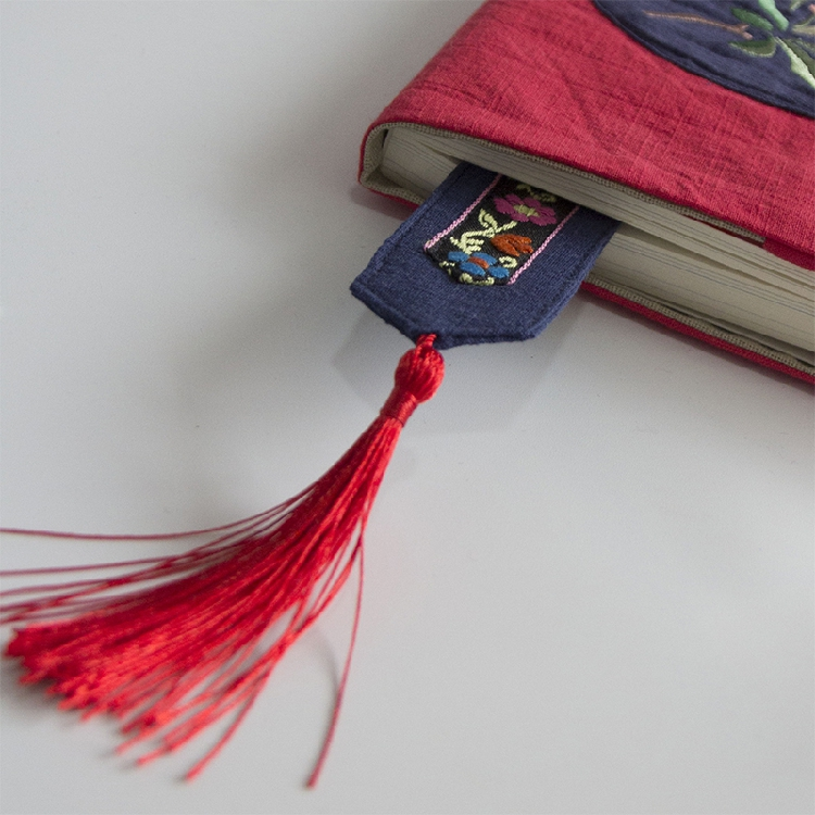 Hand Embroidered Bookmarks