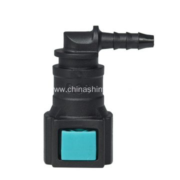 Leading Manufacturer for Sell Conductive Fittings,Conductive Quick Connector,Automotive Fuel Line Quick Connector in low price Conductive quick connector 6.30-ID3L Elbow supply to Brunei Darussalam Exporter