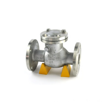 api6d clappet one way valve cn7m ductile iron swing check valve
