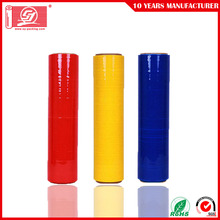 Europe style for Waterproof Colorful Stretch Film LLDPE RED Colour Stretch & Shrink Wrap Film supply to Ghana Manufacturers