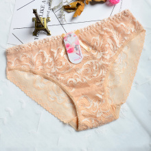 Customized for Mid-Size Panty,Sexy Panty,Boyshorts Panties Manufacturer in China Soft and comfortable Hollow transparent panties supply to Spain Manufacturers